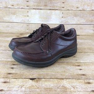 Dansko Men's Sz 45 Wyatt Oxford Brown Shoes